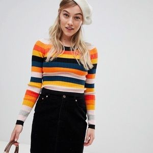 Asos Petite striped sweater